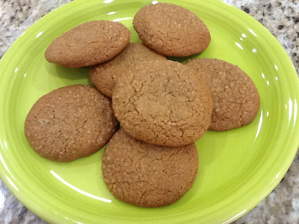 Out of the Recipe Box: Double Ginger Cookies