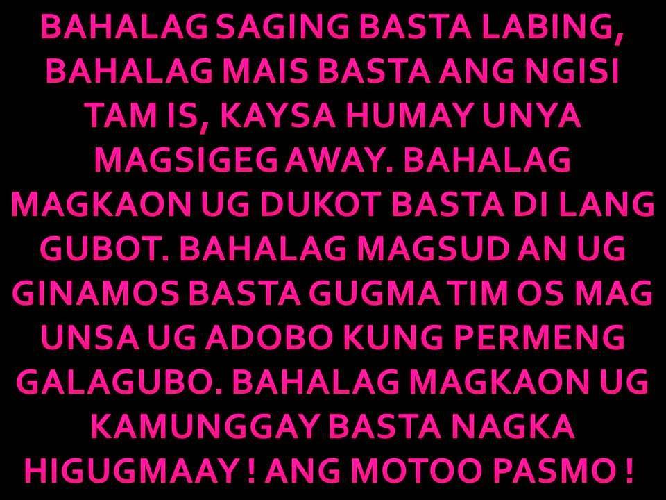 Quotes About Love 2016 Tagalog : BINISAYA UG UBAN PA: Bisaya quotes ug mga Amerkano nagbinisaya