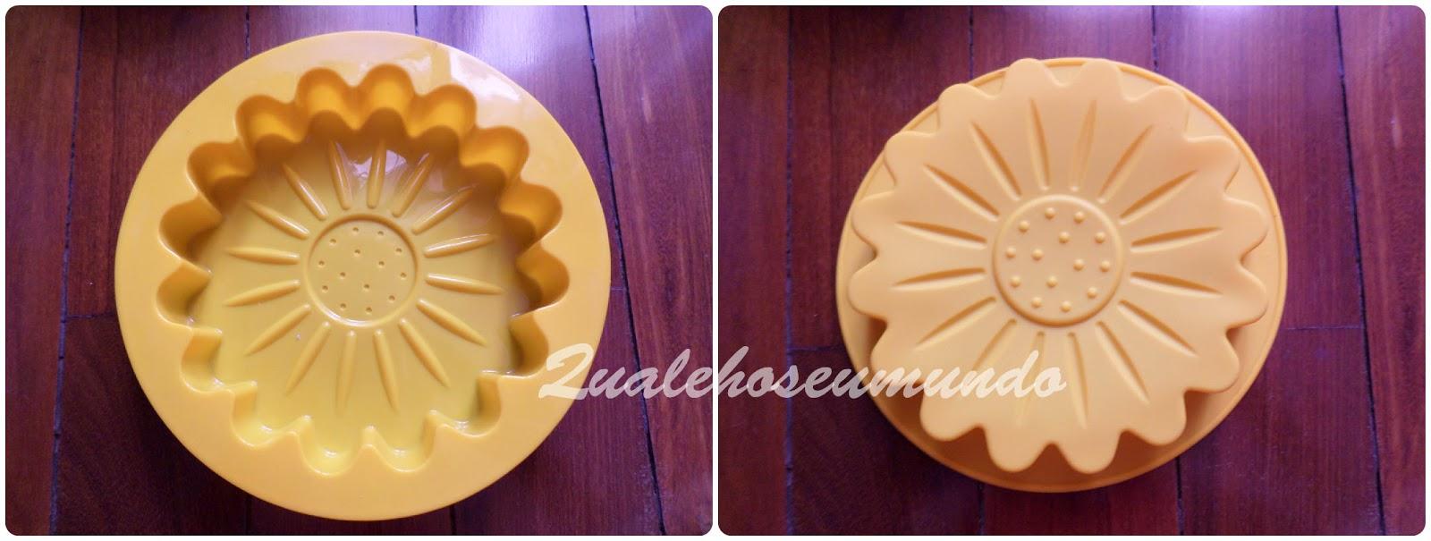 forma de silicone para bolos