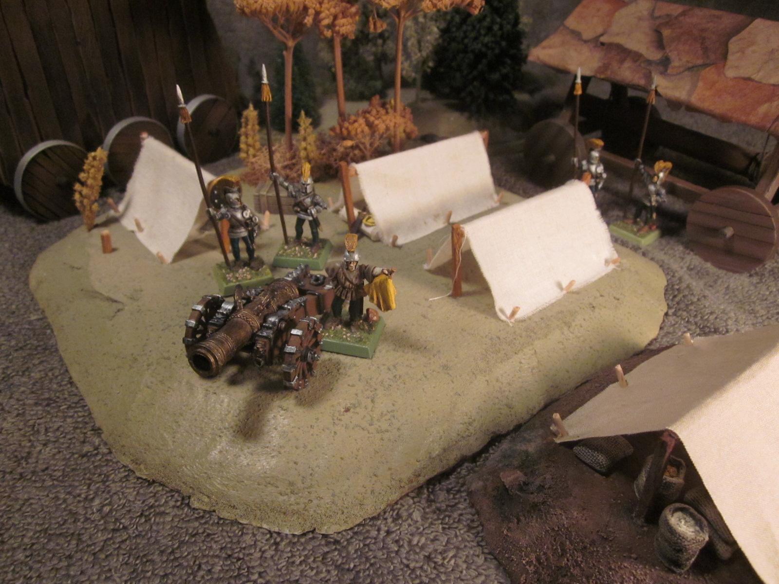 battleground hobbies how to build tents for a historical or warhammer siege encampment. Black Bedroom Furniture Sets. Home Design Ideas