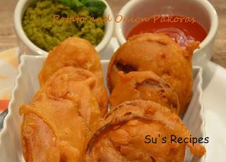 Potato and Onion Pakora, bajji, bajiya, pakodi,pakoda, aloo pakora