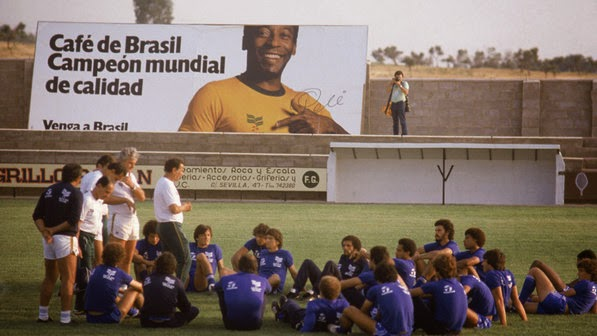 Seleção Brasileira em preparação para a Copa de 82, na Espanha