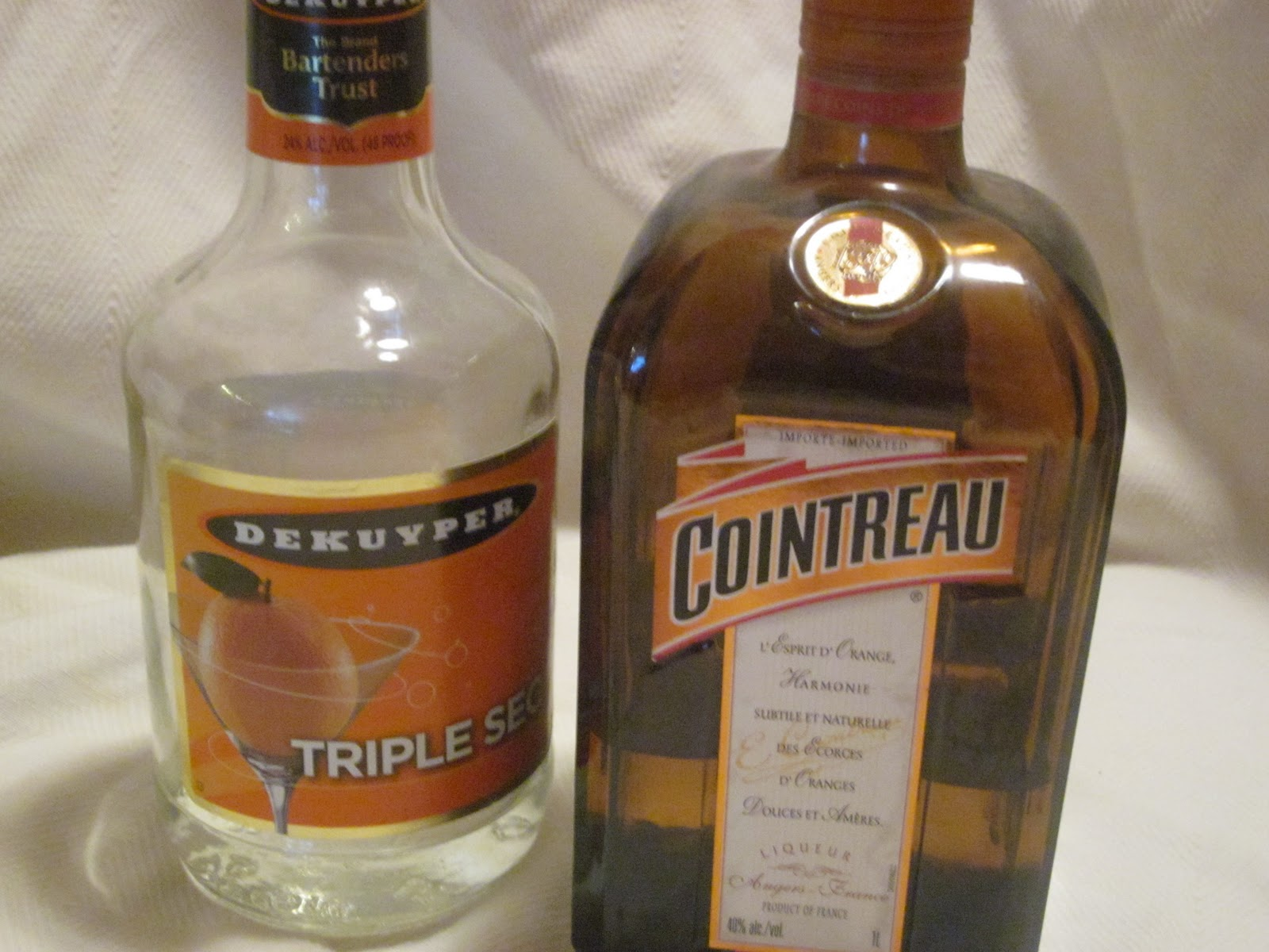 Hungry couple a cocktail story part 1 the basics of the bar for Cocktail triple sec