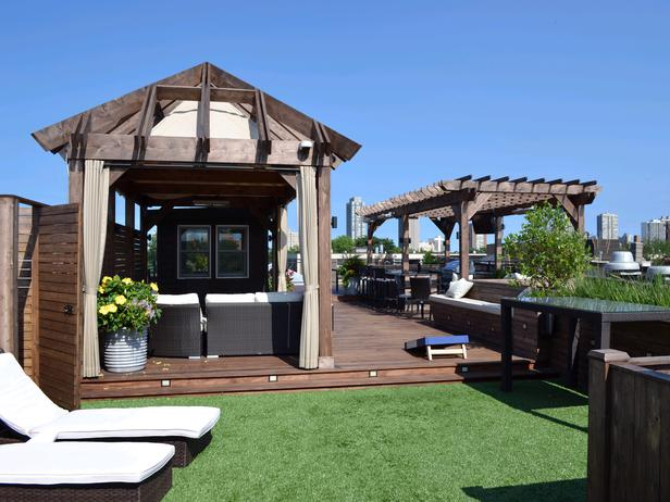 Great Backyard Decks : Sunbathing in the City