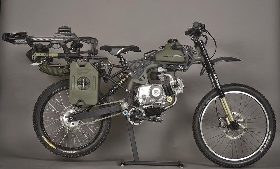 Motoped Bike Survival