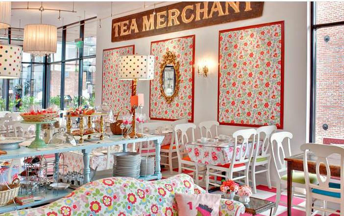 Do you love him loretta tea cup corner for Tea room design quarter