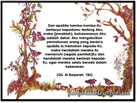 Petikan Surah Al-Baqarah, ayat 186