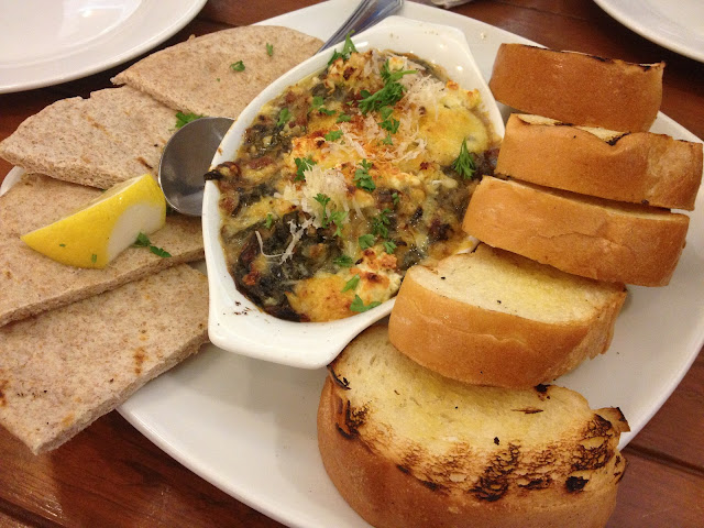Cyma's Spinach and Artichoke Fondue