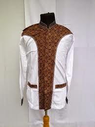 Model baju batik pria big size murah
