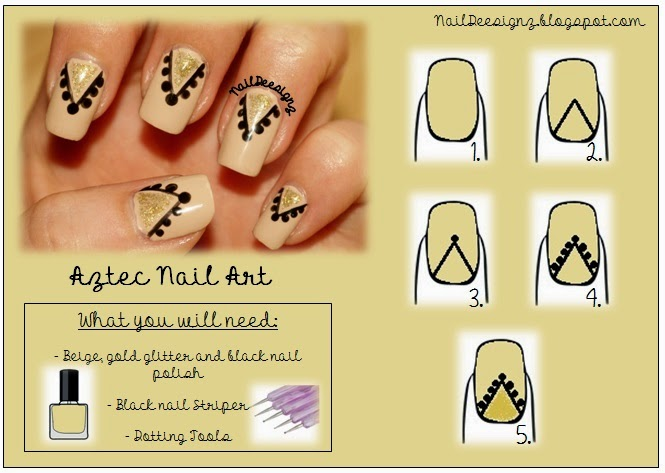 http://naildeesignz.blogspot.co.uk/2013/07/aztec-nail-art.html