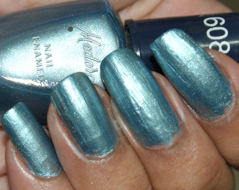medora mini nail polish,bright blue