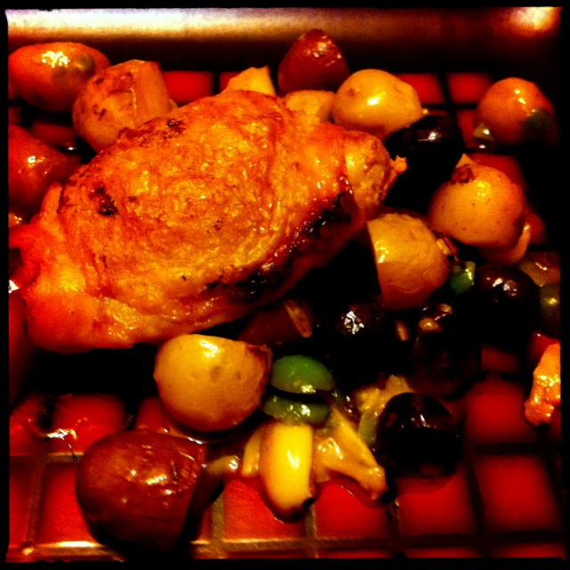 ... Living Braised Chicken with Potatoes, Olives, and Lemon | Foodie in WV