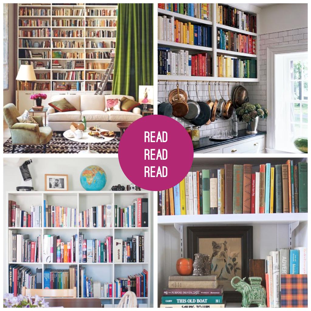 megalove's design: beautiful bookshelves
