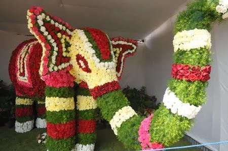 Flowers Elephant