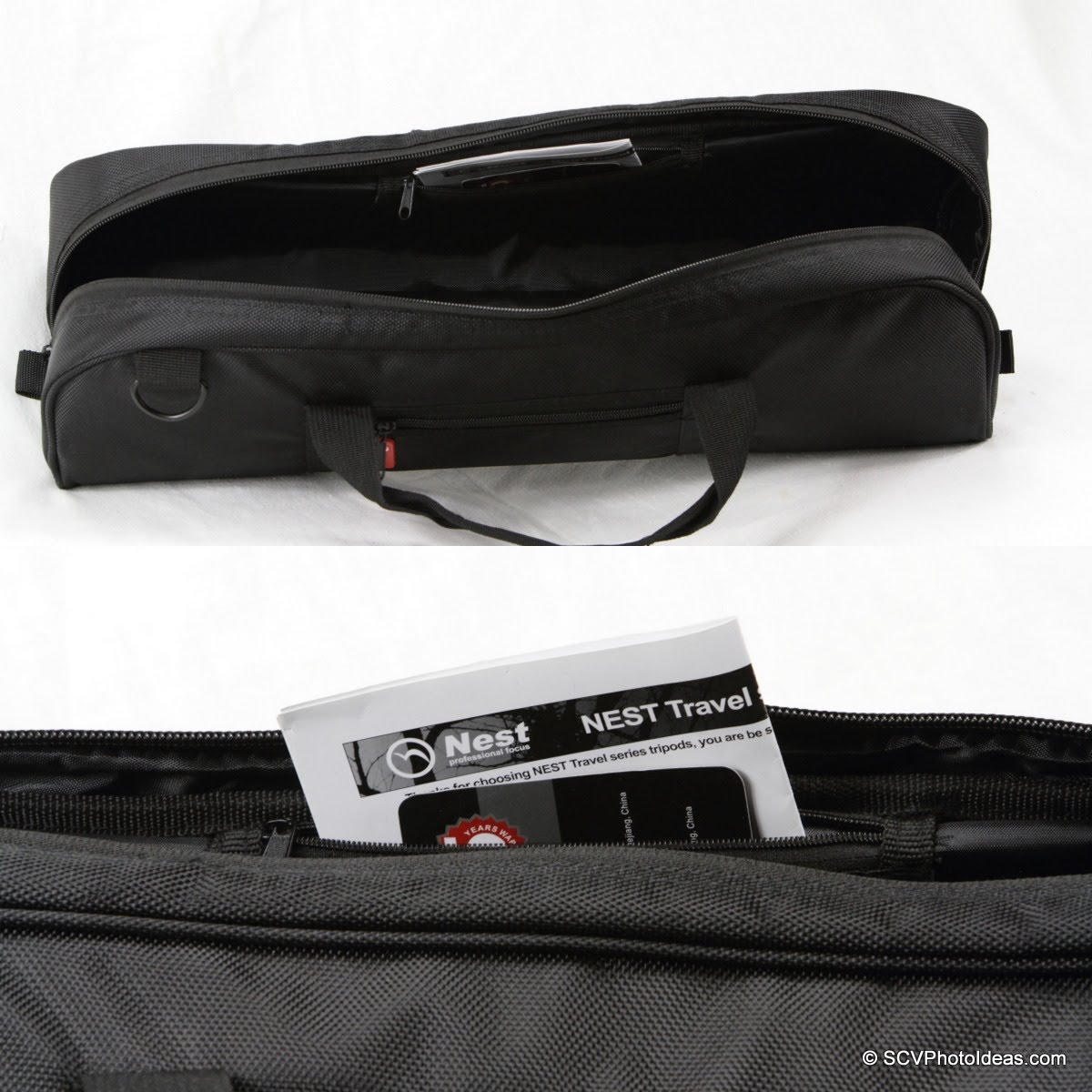 Nest NT-6294CT carrying case internal pocket detail
