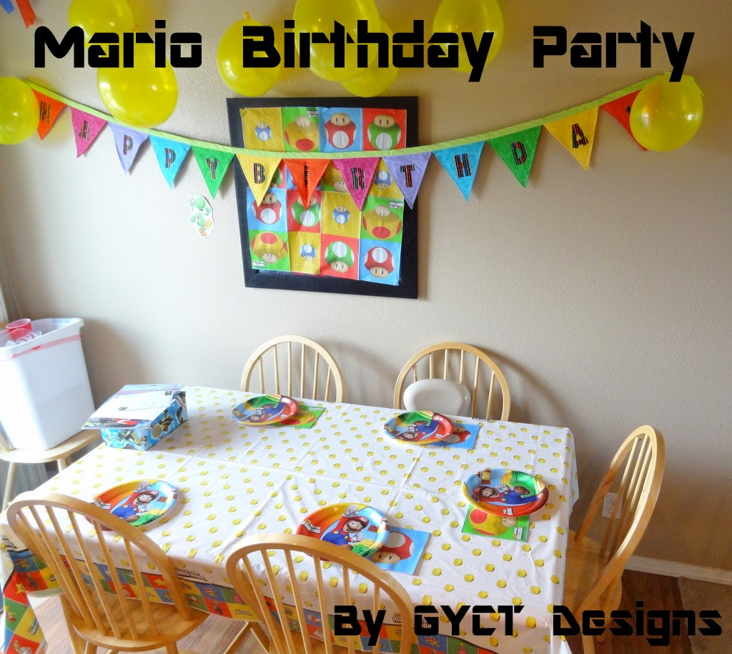 Mario Birthday Party by GYCT