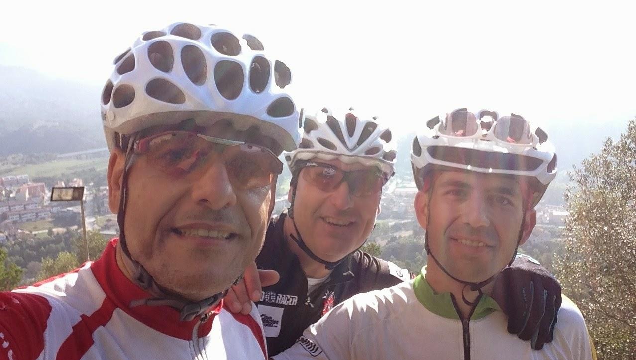 Amistad ciclismo y vida salida del 11 10 2014 el castell de claramunt por piera y regreso - Tiempo en sant sadurni d anoia ...