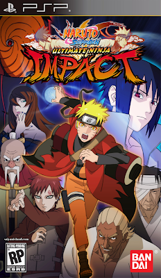 Naruto Shippuden: Ultimate Ninja Impact PSP