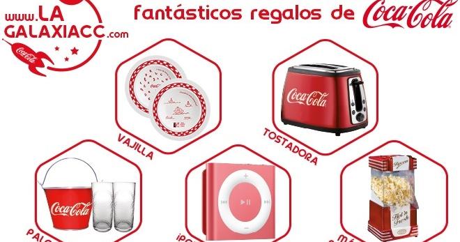 Mis peque os descubrimientos regalos de coca cola en consum - Regalos coca cola ...