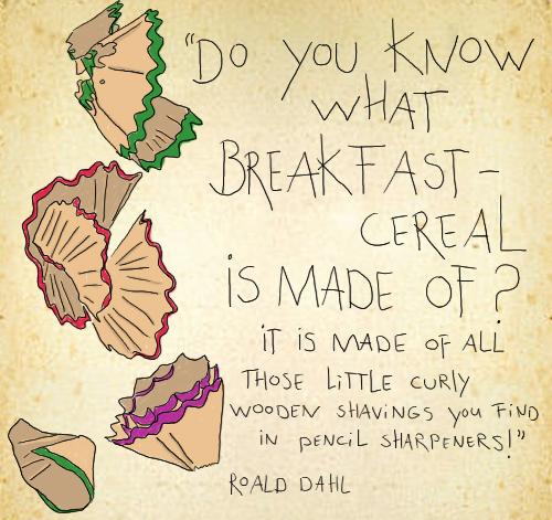 Citaten Roald Dahl : Plant aardig citaat