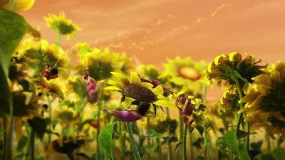 Beautiful Flower Wallpaper from Disney Movie