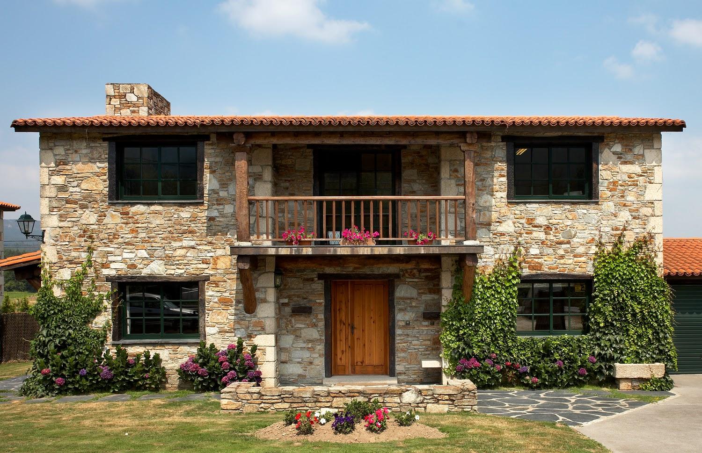 Construcciones r sticas gallegas casas a medida for Exteriores de casas rusticas