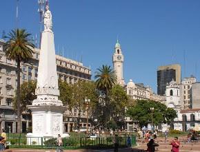 Argentina: Microcentro y Plaza de Mayo