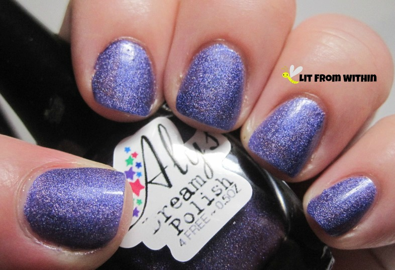 Aly's Dream Polish Electric Indigo