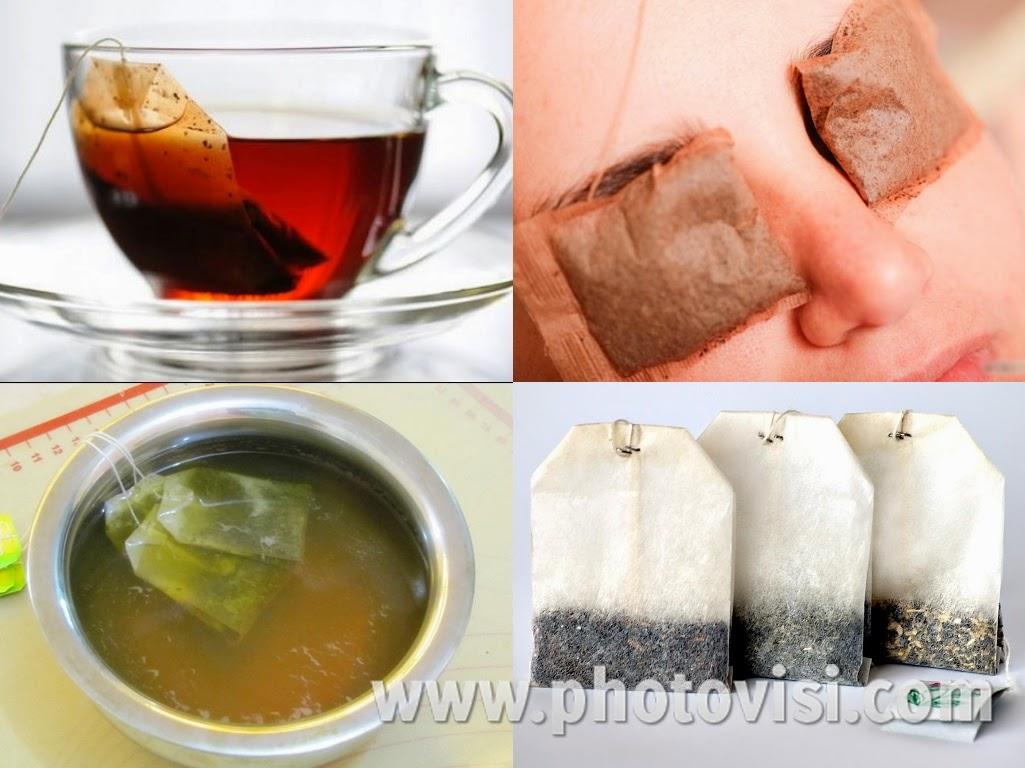 هل تعلم فوائد اكياس الشاى المستعملة فوائد مذهلة جدا ؟