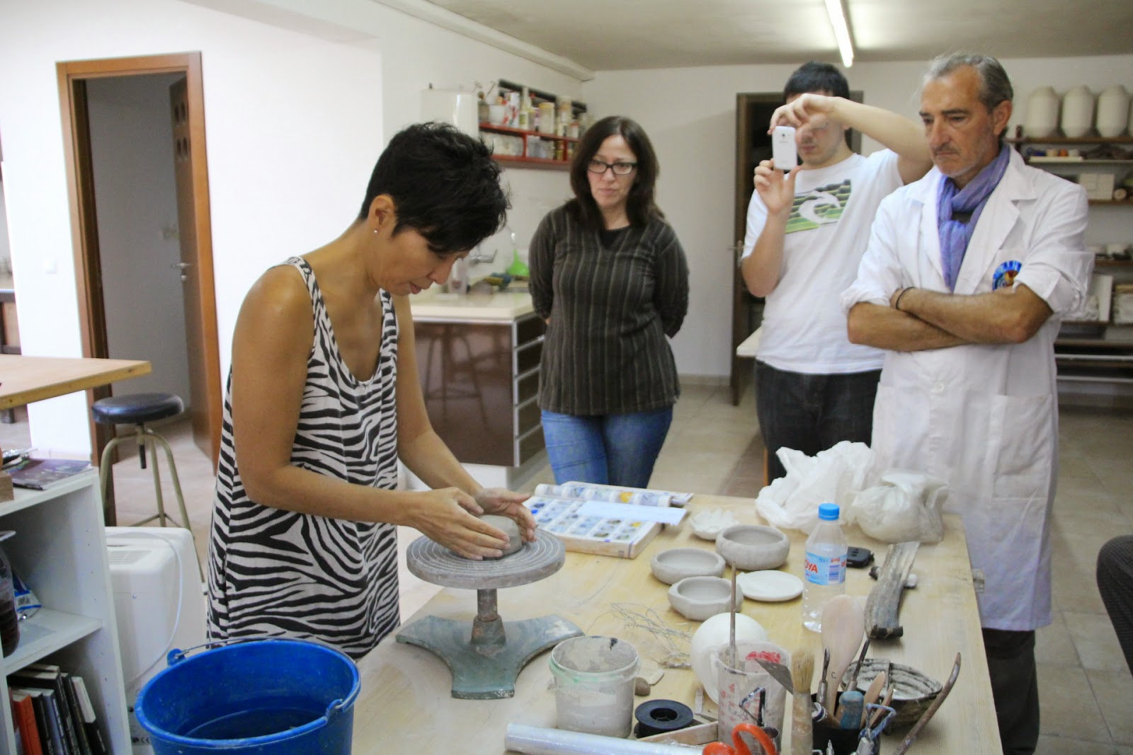 Chisato ceramica fotos y video de segundo curso en for Curso ceramica barcelona