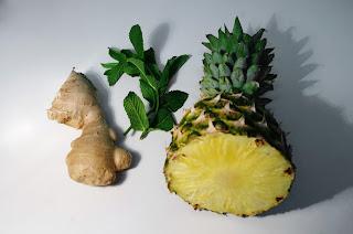 piña y jengibre