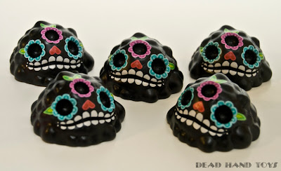 Sugar Skull Gread Resin Figures by Dead Hand Toys