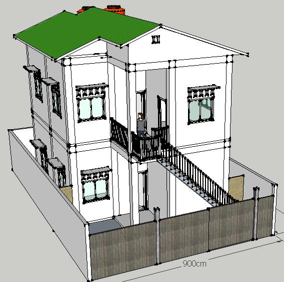 Download File Desain Rumah Sketchup 8 Rumah Xy