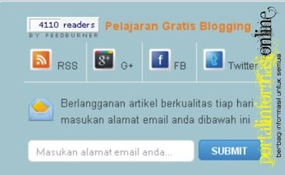 Membuat Subscription Form Wordpress pada Blogger