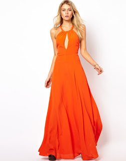 Pakaian warna oranye