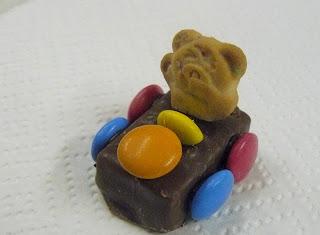 Smarties, Tidy Teddy, Milky Way