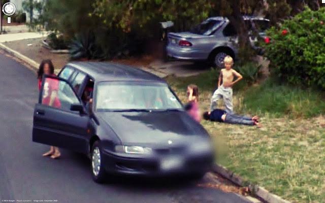 family fun on street view