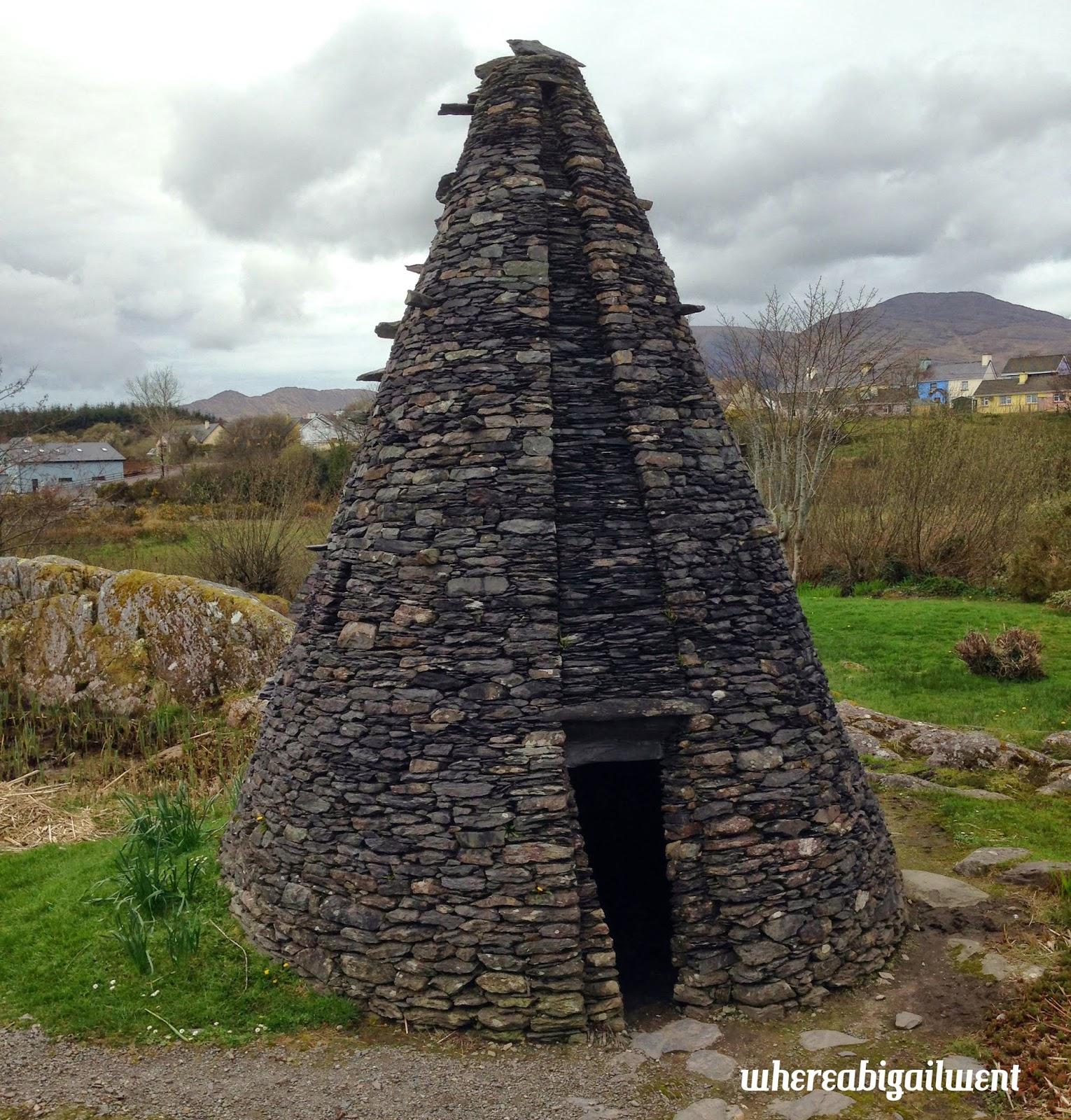 Irish Fairies Built Pyramids