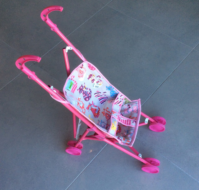 after - dolls pram  by Liron Shebs