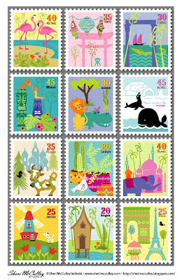 Eloquent image pertaining to stamp printable