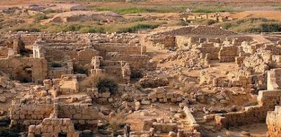 Ruinas de Abu Mena en Egipto