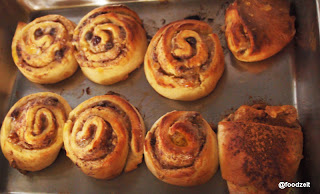 Rolls fresh from the oven nice and brown baked
