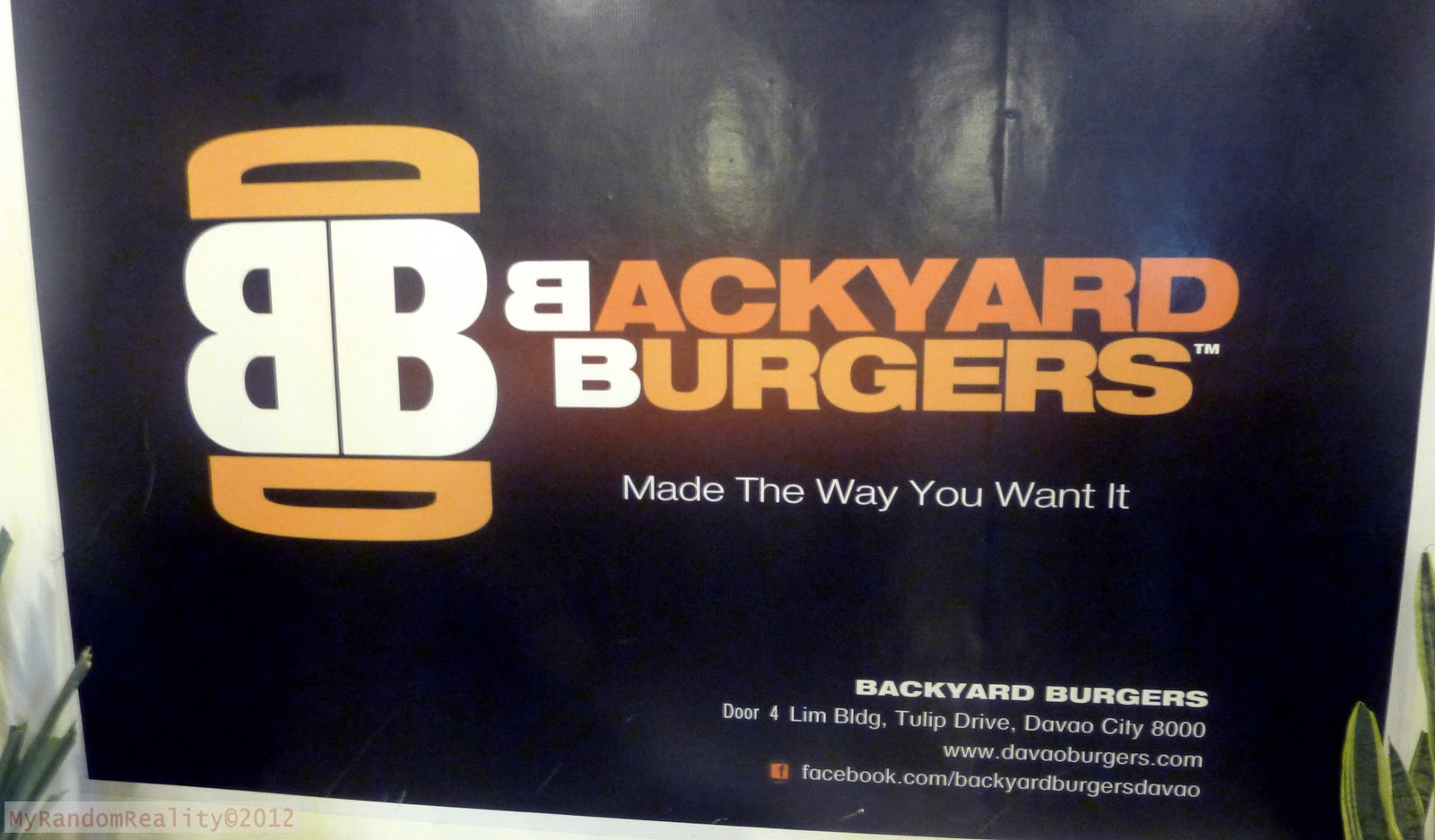 visiting backyard burgers for the nth time my random reality