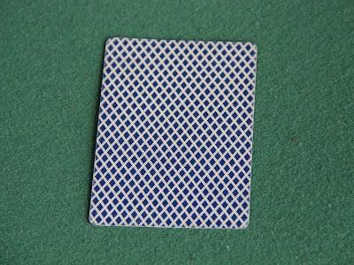 daubed card
