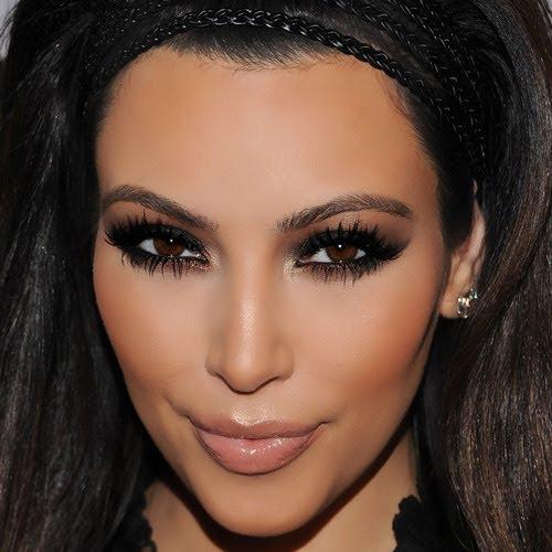 Beleza Moda Make up Maquiagens Da Kim Kardashiam