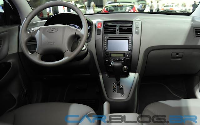Hyundai Tucson Flex Automática 2013 - interior - painel