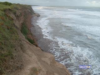 Playa de acantilados - Mar del Plata