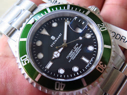 STEINHART OCEAN ONE KERMIT DIVER 1000ft / 300m - AUTOMATIC - BRAND NEW WATCH