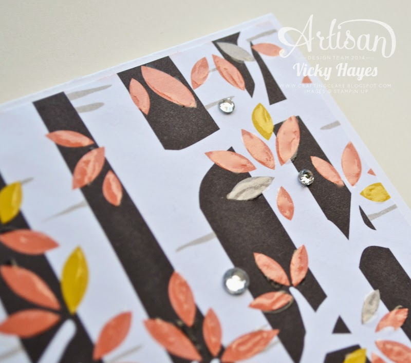 Visit my UK Stampin' Up blog to buy the new autumn products from my online shop