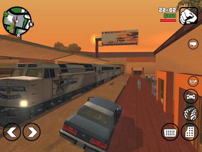 GTA San Andreas for Android-Screenshot-1